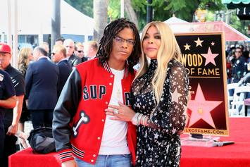 "Wendy Williams Teaches Son How To ""Make It Rain"" At Strip Club & Shades Husband"