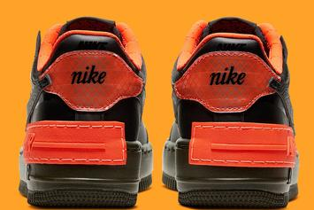 "Nike Air Force 1 Low ""Shadow"" Unveiled Prior To Halloween: Official Images"