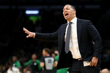 Ty Lue Jokingly Disses LeBron's Agent Rich Paul By Ignoring His Dap: Watch