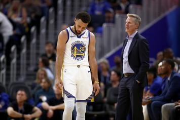 Steph Curry Reacts To Warriors' Blowout Loss To The Clippers