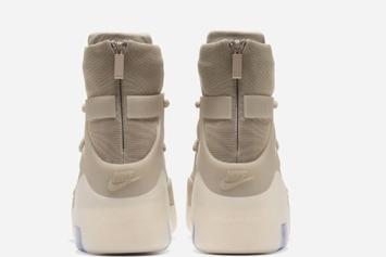 """Nike Air Fear Of God 1 """"Oatmeal"""" Coming Soon, Official Images Unveiled"""