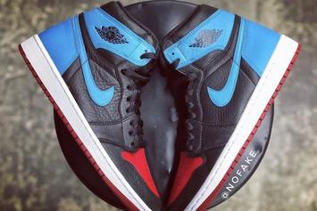 "Air Jordan 1 ""UNC To Chicago"" Rumored For Valentine's Day: Release Info"