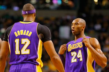Kobe Bryant Reacts To Dwight Howard's Latest Lakers Stint