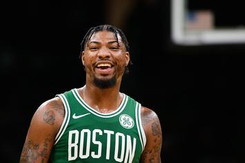 Marcus Smart Pranks Celtics Rookie With $4,500 Chipotle Bill: Watch
