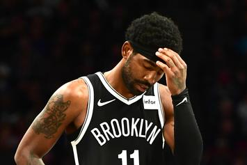 "Kyrie Irving Defended By Nets Head Coach Following ""Mood Swings"" Report"
