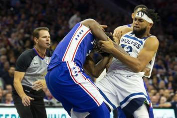 Joel Embiid & KAT Altercation Leads To Swift Response From 76ers GM