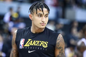 Lakers' Kyle Kuzma Channels Blueface For His Halloween Costume