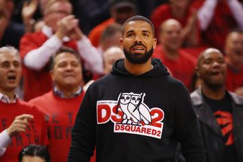 Drake Buffs Up To Dress As His Bodyguard For Halloween