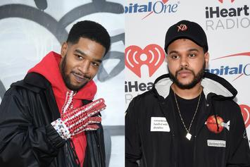 "The Weeknd's Premieres Kid Cudi Remix Of His Song ""Privilege"" On Memento Mori"