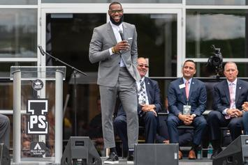 "LeBron James Makes Huge Announcement Regarding His ""I Promise"" School"