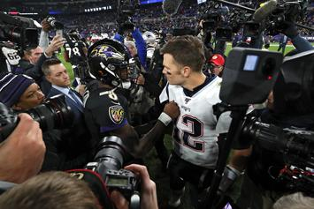 Lamar Jackson Exudes Confidence While Teasing Tom Brady Playoff Rematch