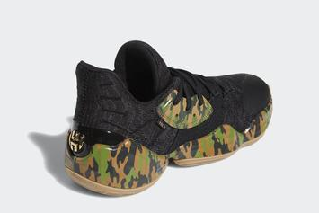 "Adidas Harden Vol. 4 ""Camo"" Release Date Revealed: Official Photos"