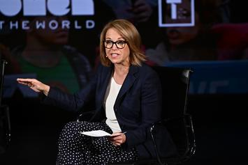 Katie Couric Speaks About Matt Laurer At Event In NYC