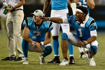 """Report: Cam Newton """"Highly Unlikely"""" To Play For Panthers Next Season"""