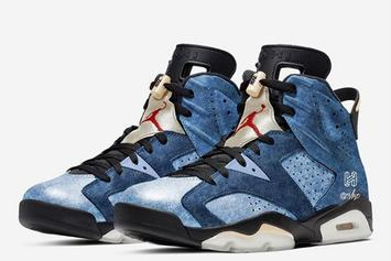 "Air Jordan 6 ""Washed Denim"" Rumored For The Holidays: First Look"
