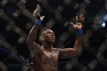 Israel Adesanya Reveals To Joe Rogan Who He Wants To Fight Next: Watch