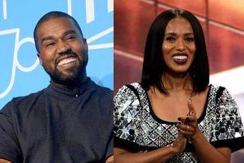 Kerry Washington Occasionally Receives Text Messages Meant For Kanye West