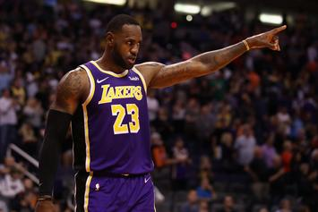 LeBron James Hilariously Saved By Jared Dudley After High-Five Snub