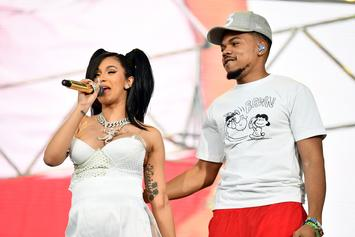 """Cardi B & Chance The Rapper Have Opposite Reactions To Their """"Mean Tweets"""""""