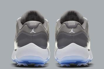 "Air Jordan 11 Low ""Cool Grey"" Given Golf Show Makeover: Details"