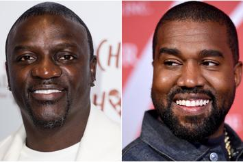 """Akon Says He Needs Kanye West To Run For President: He's """"Not Crazy"""""""