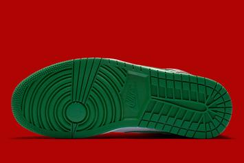 Air Jordan 1 Mid Dressed In Christmas-Like Colorway: Official Images