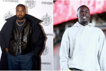 Kanye West & Sheck Wes Link Up In Wyoming: See Photo