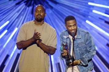 "Kanye West & Big Sean Are ""Locked & Loaded"" During Studio Session"