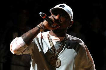 """Fabolous Spits """"Fire In The Booth"""" Freestyle About Pain On Charlie Sloth's Show"""