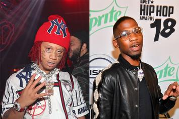Trippie Redd's New Album Has BlocBoy JB In His Feelings: Watch