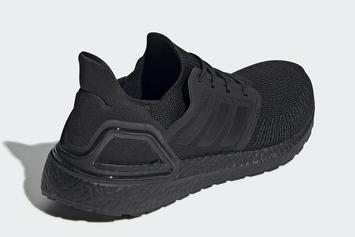 Adidas UltraBoost 20 Revealed In Triple-Black Colorway: Official Photos