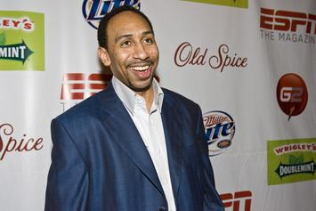 Stephen A. Smith Shares Nostalgia-Inducing Stuart Scott TBT Photo