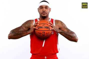 Carmelo Anthony's NBA Comeback Is Already One For The Ages
