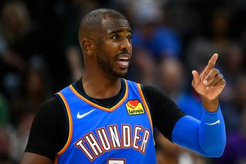 Chris Paul Snitches To Refs, Helps Secure A Win For The Thunder