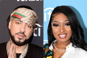 French Montana & Megan Thee Stallion Go For Dinner Following His Hospital Release
