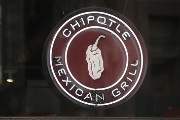 "Chipotle Giving Away Free Burritos This Week With ""Holiday Extravaganza"" Posts"