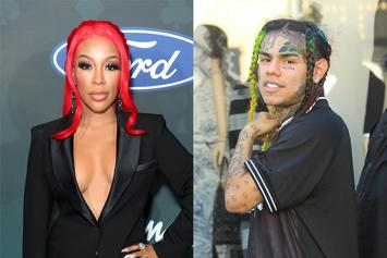 K. Michelle Explains Why She's Happy Tekashi 6ix9ine May Be Released This Week