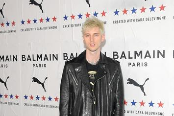 Machine Gun Kelly Smacks Adam22 For Saying Eminem Won Battle: Watch