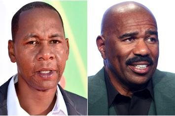 """Comedian Mark Curry Accuses Steve Harvey Of Stealing His Material: """"Bit*h A**"""""""