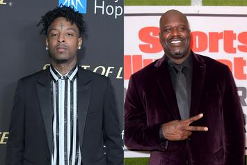 "21 Savage Praised By Shaquille O'Neal As One Of His ""Favorite Guys"""