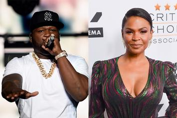 50 Cent Is A Big Fan Of Nia Long's Busty Car Selfie
