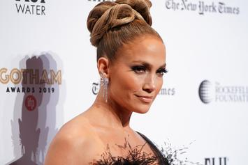 Jennifer Lopez Looks Incredibly Fit Practicing Super Bowl Choreography
