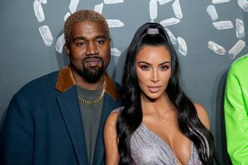 Kim Kardashian Shares Christmas Eve Photo With Kanye West & Children