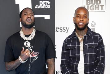 "Meek Mill Roasts Tory Lanez Hard: ""You The Most Cockiest N***a"""