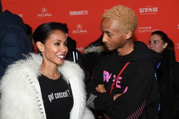 Jada Pinkett Smith Shares Cleavage-Heavy Photo From Months After Jaden's Birth