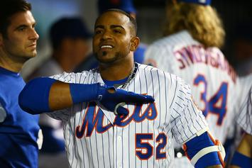 Report: Yoenis Cespedes's Ankle Injury Was Caused By A Wild Boar