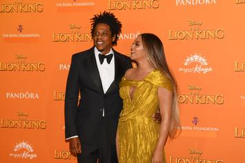 Beyoncé & Jay-Z Arrived Late To Golden Globes, Brought Own Ace Of Spades Bottles