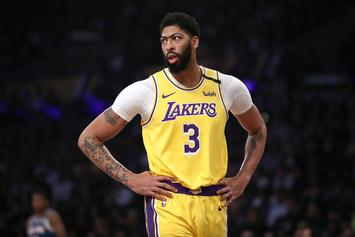 Anthony Davis Suffers Bruised Tailbone During Lakers Win: Details