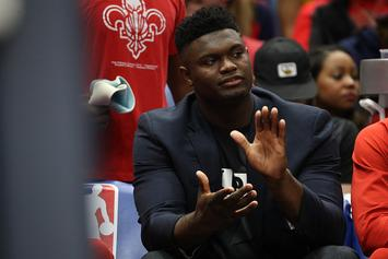 Zion Williamson Caught Dozing Off On Pelicans Bench: NBA Twitter Reacts
