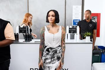 Kehlani's Daughter Is Already Practicing Her Vocals With Her Father: Watch